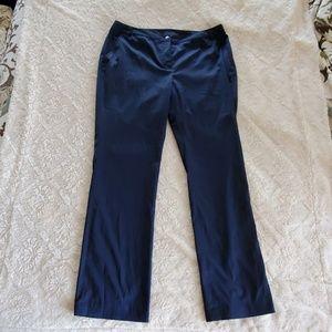 Navy blue golf pants